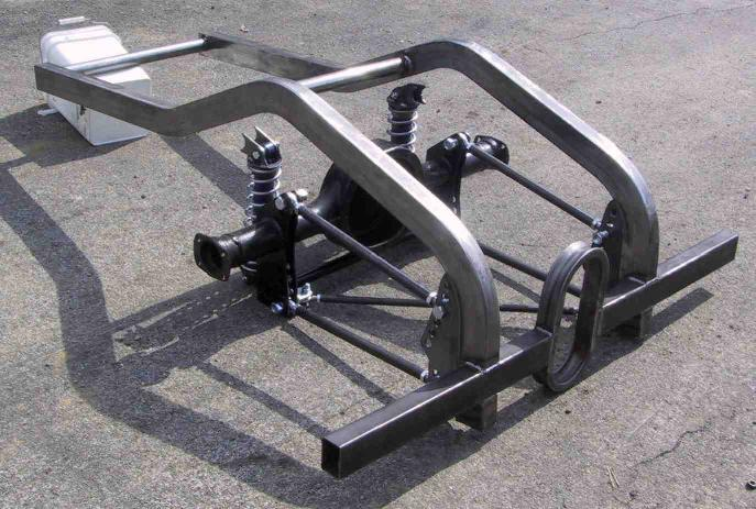 R Amp R Chassis 187 Suspension